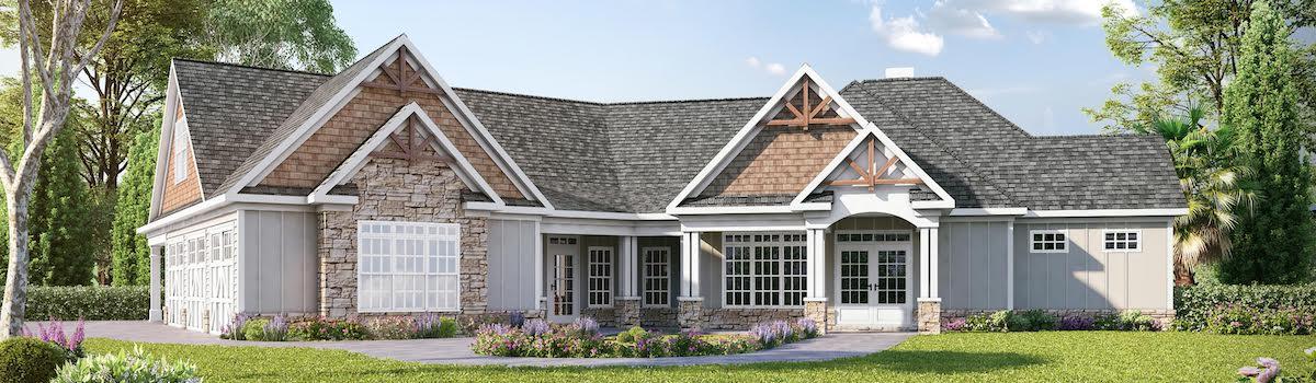 Craftsman Home Wide